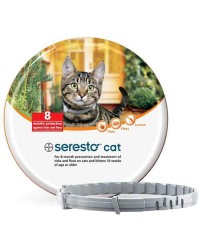 Collar antiparasitario Seresto de Bayer para gatos