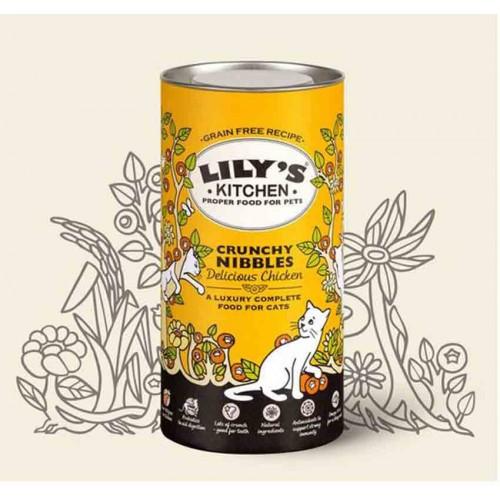 Lily's Kitchen Crunchy Nibbles para gatos