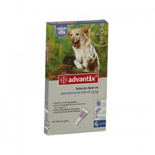 Advantix 4 pipetas - De + 25 k