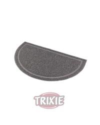 Alfombrilla semicircular para bandejas de gato