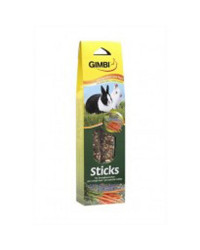 Gimbi Stick Conejo Heno Zanahoria, 2 ud