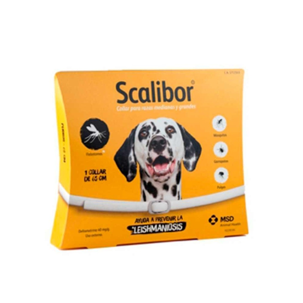 Collar antiparasitario para perros scalibor comprar for Verdecora zaragoza