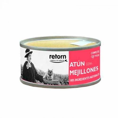Alimento húmedo para gatos Retorn Atún con Mejillones