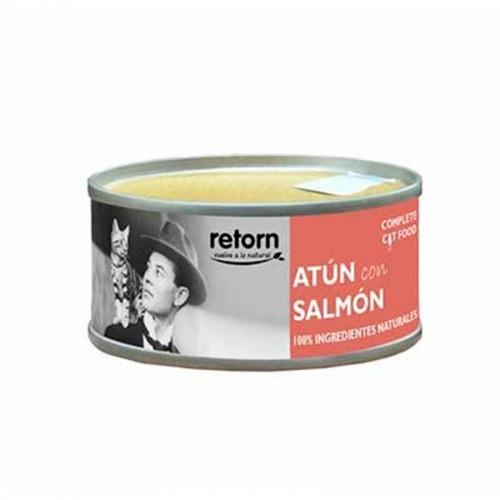 Alimento húmedo para gatos Retorn Atún con Salmón