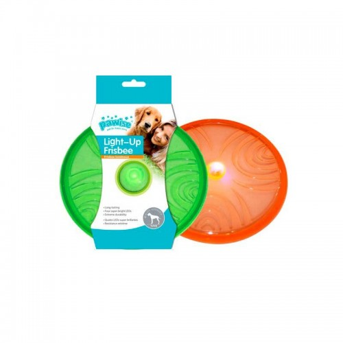 Frisbee Flash Pawise con luz