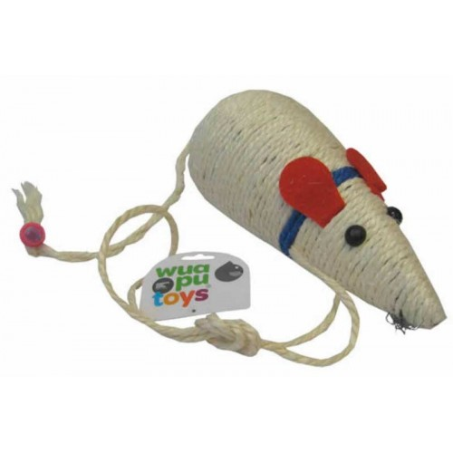 Ratón sisal 30 cm Wuapu