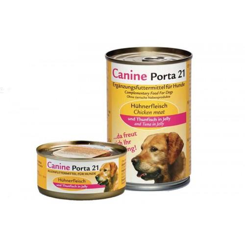 Alimento húmedo Porta 21 Atún con Pollo 400 gr