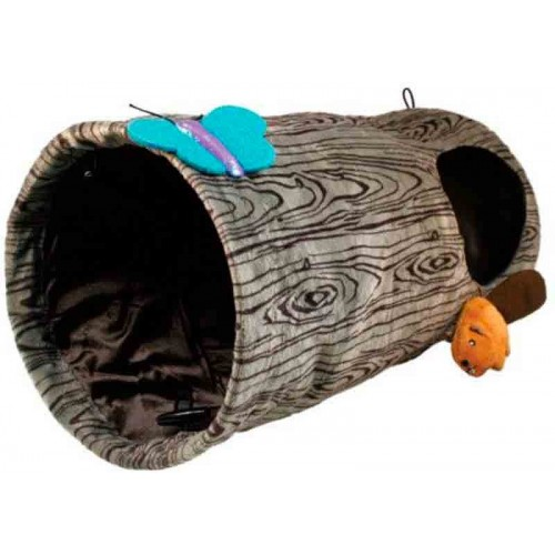 Túnel para gatos Kong Burrow