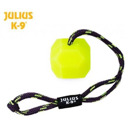 Pelota silicona Julius K9 ICD fosforita