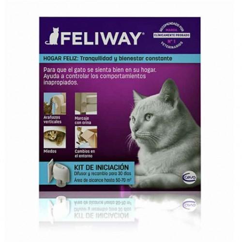 """Feliway """"Kit iniciación"""" difusor + recambio 24ml"""