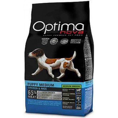 Optimanova Puppy Medium