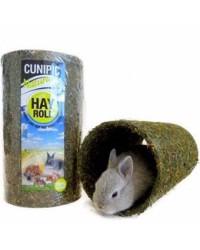 Túnel de heno para conejos y roedores