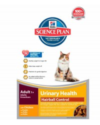 Hill's Urinary health Hairball Control Gatos