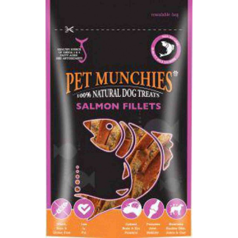 Pet Munchies filetes salmón
