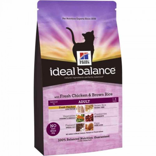 Hill´s Ideal Balance Gato Adult Pollo y Arroz