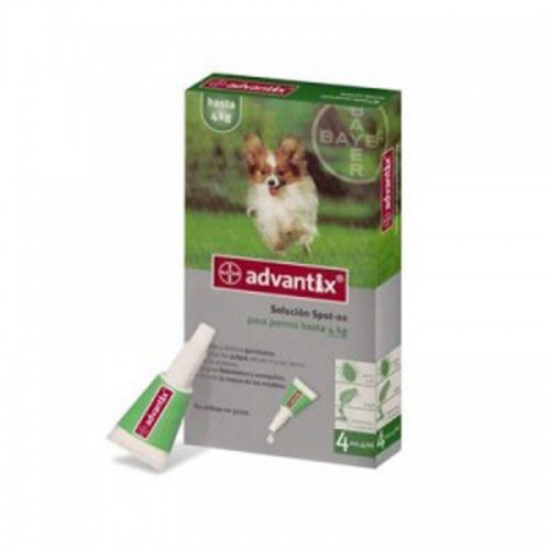 Advantix pipetas - Hasta 4 kilos