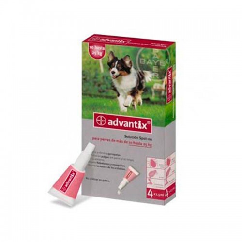 Advantix 4 pipetas - De 10 a 25 k