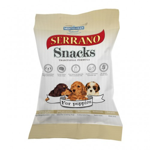 Serrano Snacks Mediterranean Puppies