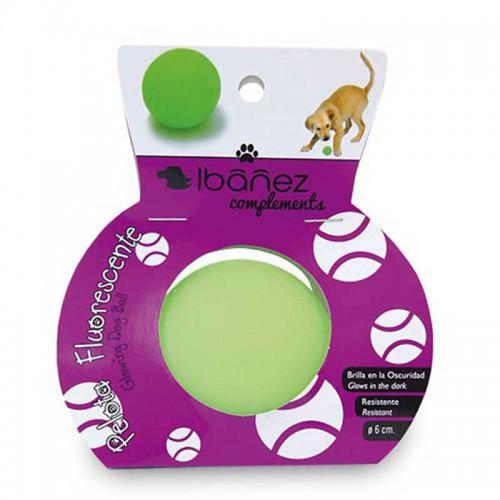 Pelota fluorescente para perro Ibañez