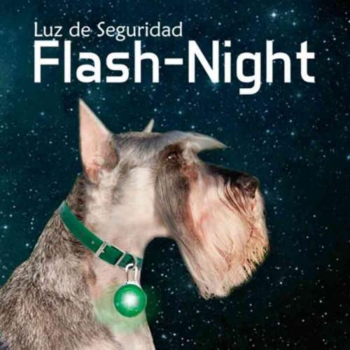 Luz led flash para perros
