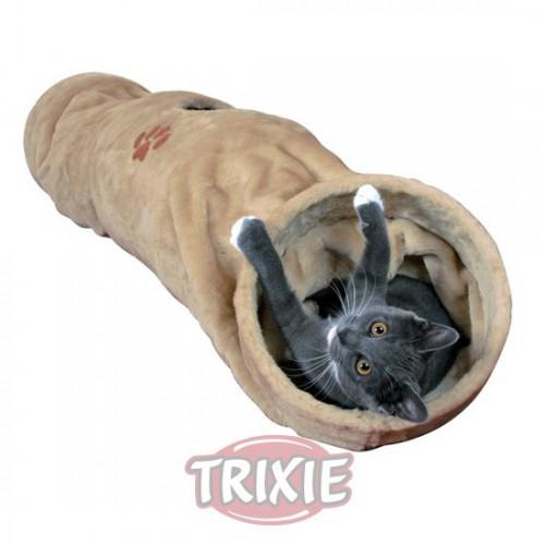 Túnel de juego de peluche para gatos