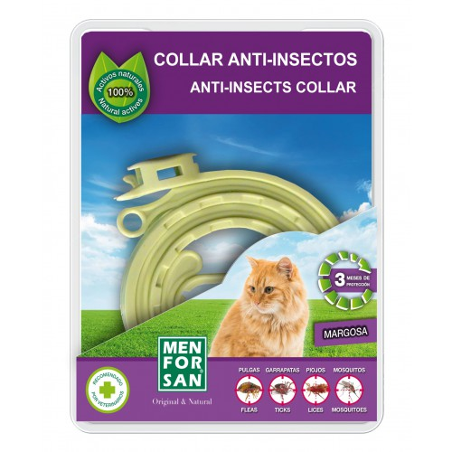 Collar repelente insectos natural MFS