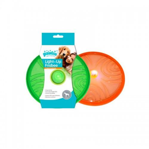 Frisbee Flash Pawise con luz