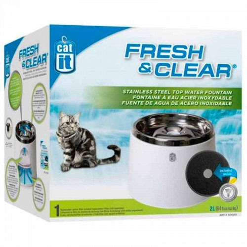 Fuente automática acero inoxidable Cat It 2L