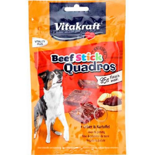 Vitakraft Quadros Beef Sticks hígado y patata
