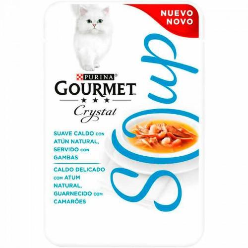 Gourmet Soup atún con gambas
