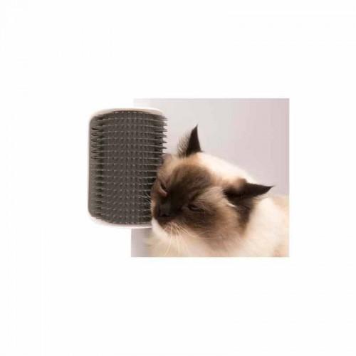 Masajeador de pared Self Groomer de Catit con catnip