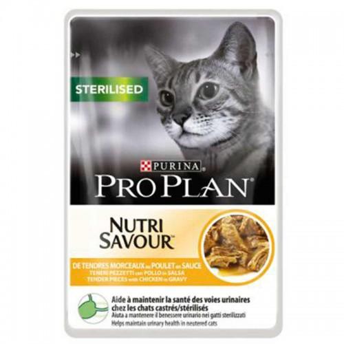 Alimento húmedo Pro Plan gatos esterilizados