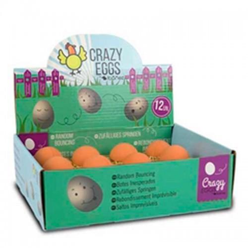 Huevos locos de goma