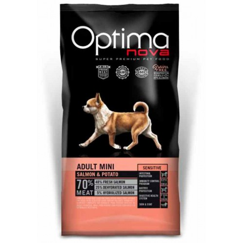Optimanva Adult Mini Sensitive Salmón y patata
