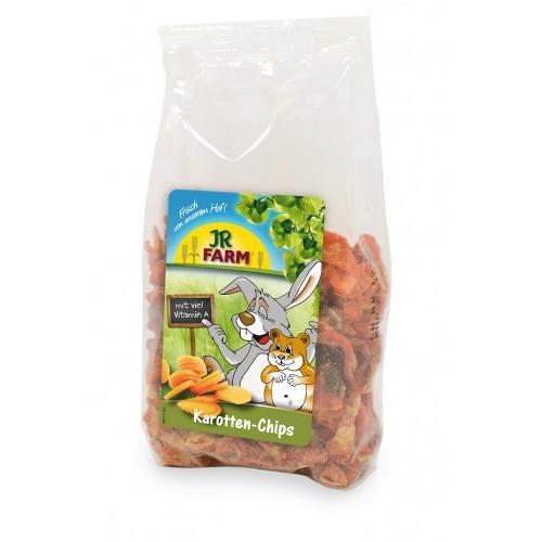 Trocitos de zanahoria para conejos y roedores
