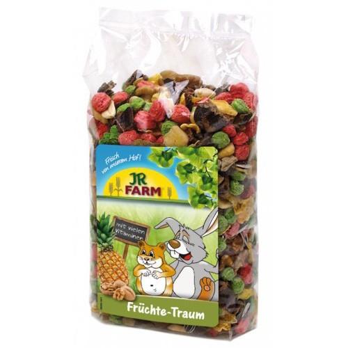 Bocaditos de fruta para conejos y roedores