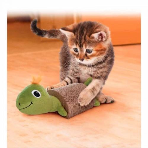 Kong Cat Scratcher con juguete para gato