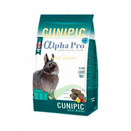 Cunipic Alpha Pro conejo adulto grain free