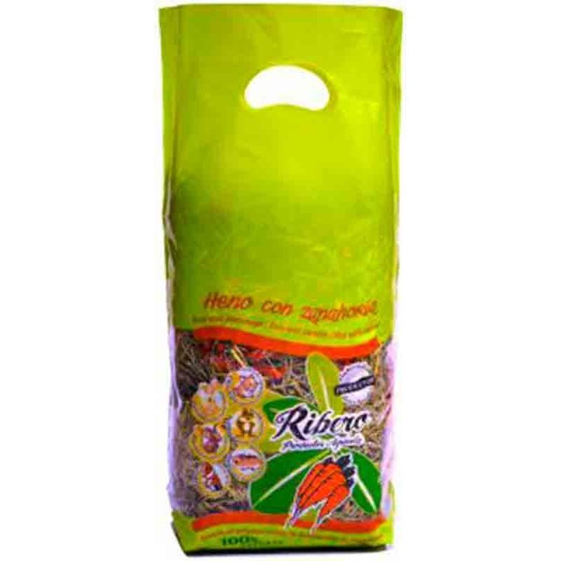 Heno con zanahoria Ribero