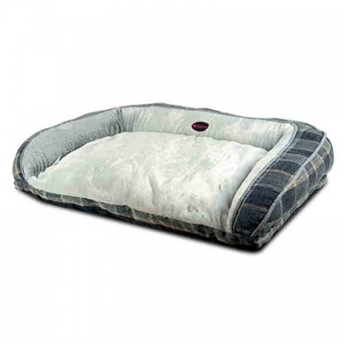 Cama sofá Grey Plaid