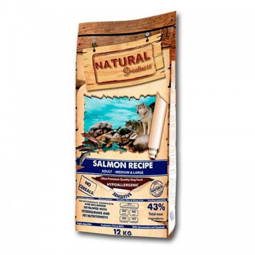 Natural Greatness Salmon Medium Large