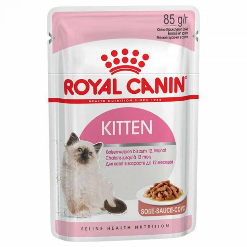 Royal Canin Kitten Instinctive en salsa
