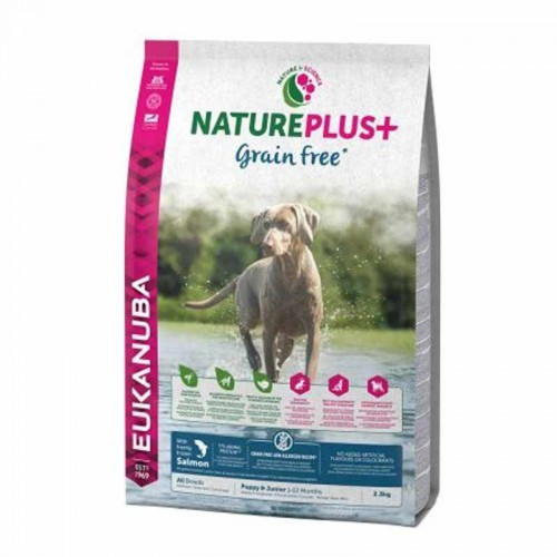 Eukanuba NaturePlus Puppy Grain Free Salmón