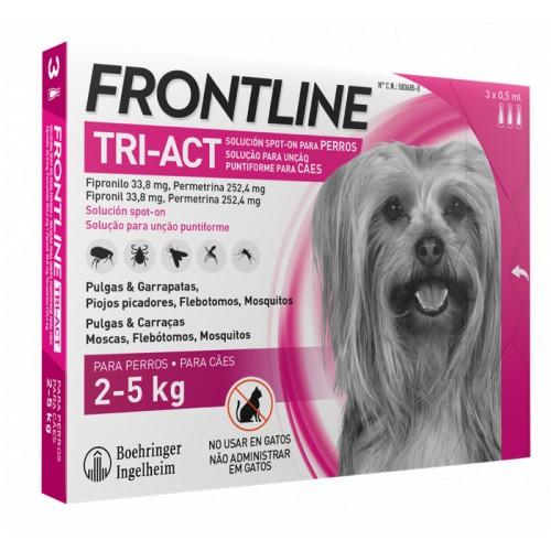 Frontline Tri-Act 2 a 5 kilos