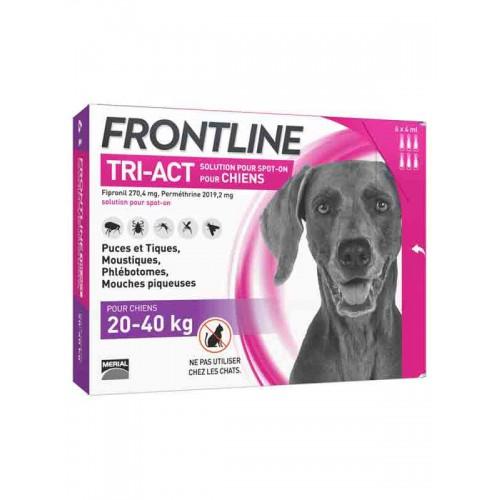 Frontline Tri-Act 20 a 40 kilos