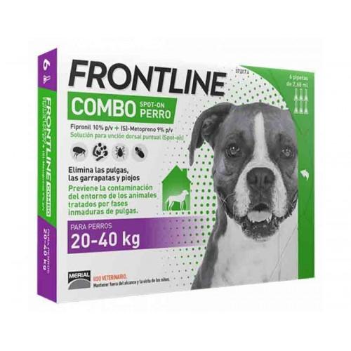 Frontline Combo Perro 20-40 kilos