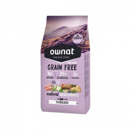 Ownat Cat Grain Free Sterilized