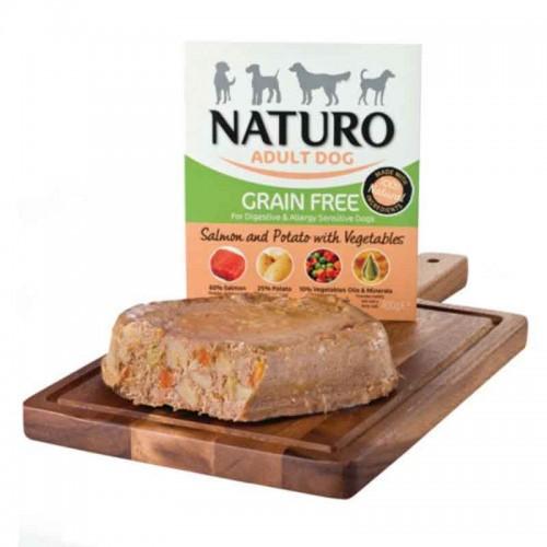 Naturo Adult Dog Salmón y Vegetales Grain Free