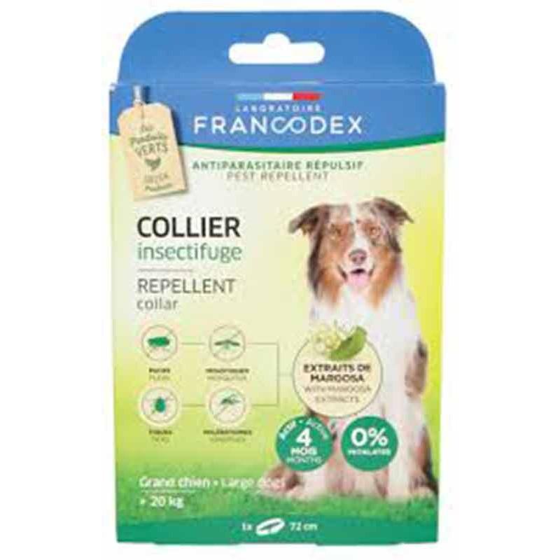 Collar antiparasitario natural Francodex