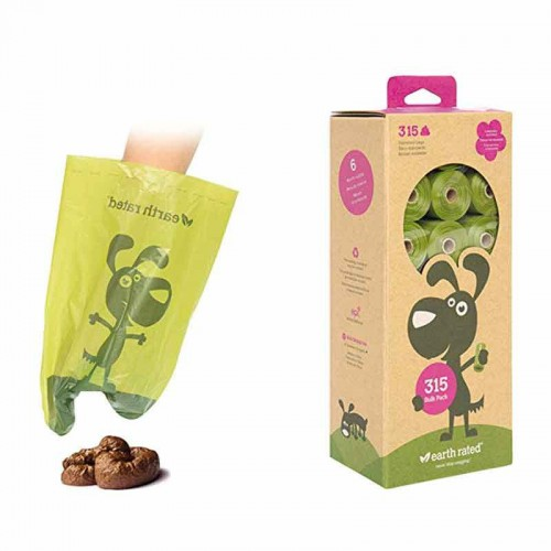 Bolsas higiénicas lavanda biodegradables Earth Rated